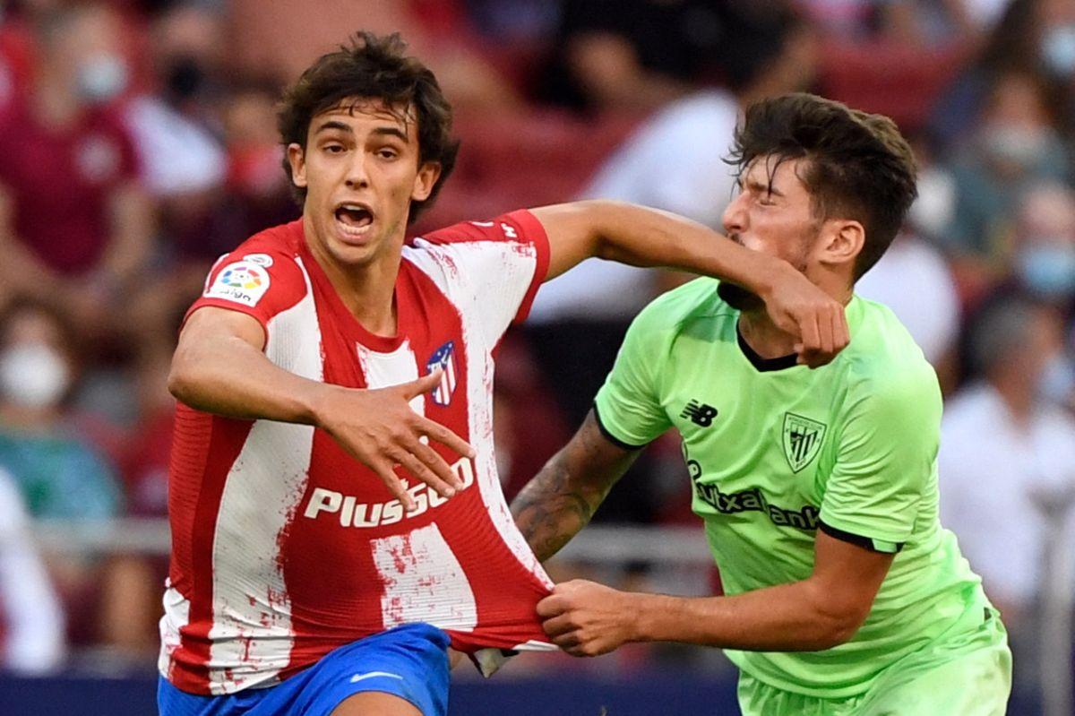 """Los """"Colchoneros igualaron sin goles contra el Athletic Club de Bilbao en un partido ausente de ocasiones."""
