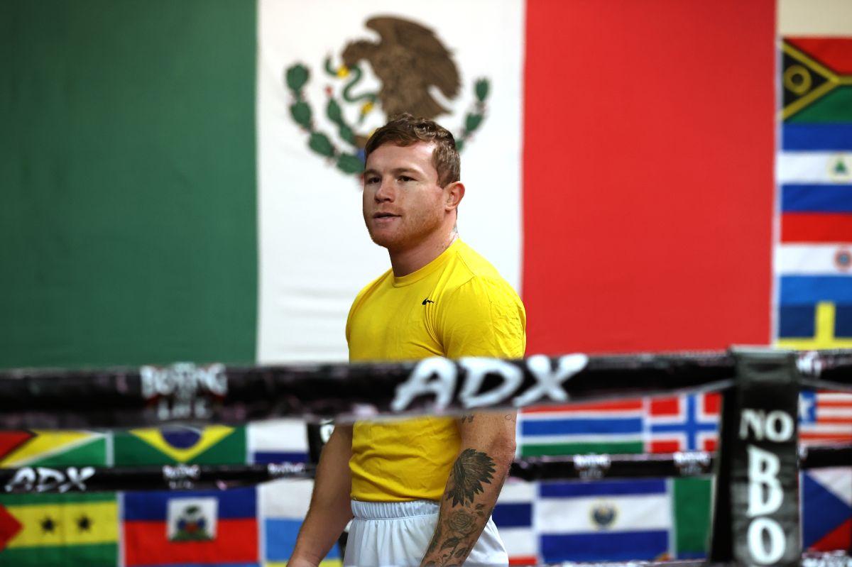 Canelo se siente contento con la posibilidad de ser el único boxeador en ganar todos los títulos del peso supermedio.