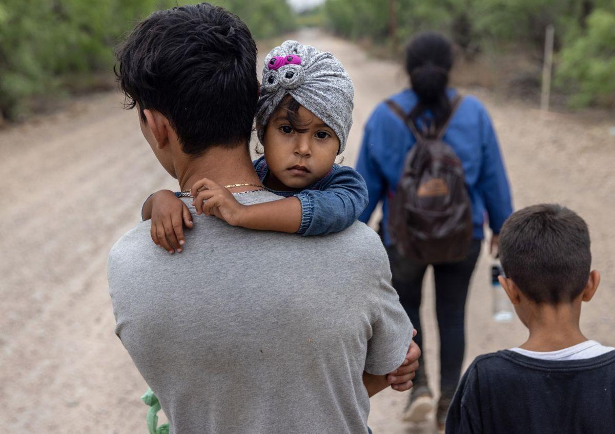 En México se triplicó la llegada de menores migrantes solos o acompañados.