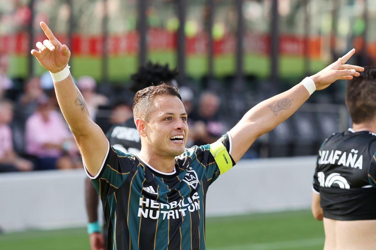 El azteca tiene 11 goles en la actual temporada de la MLS.