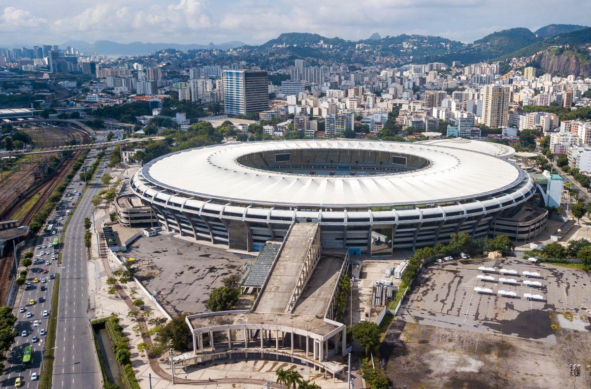 El Maracaná sería la principal sede del evento.
