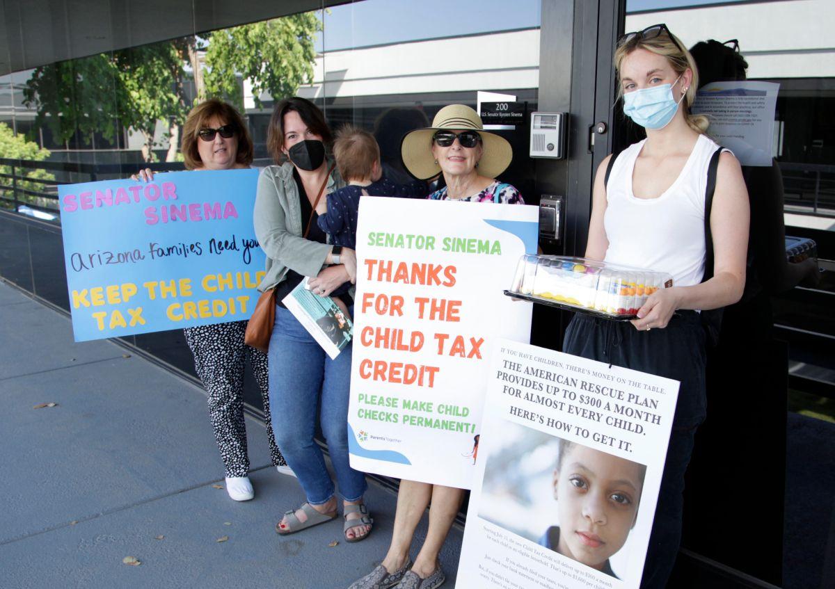 Algunas familias que recibieron los pagos del crédito fiscal en julio y agosto siguen esperando su depósito de septiembre.