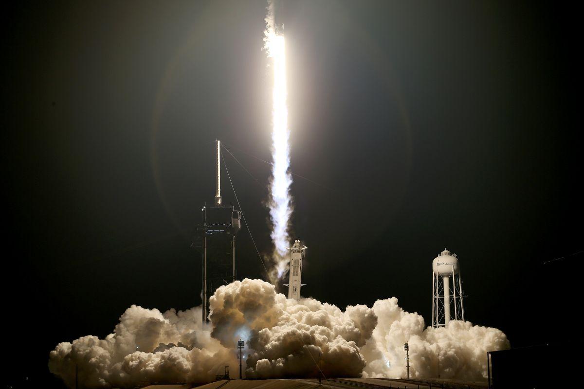 El miércoles despegó con éxito el Inspiration4 de SpaceX la primera tripulación completamente civil de la historia.