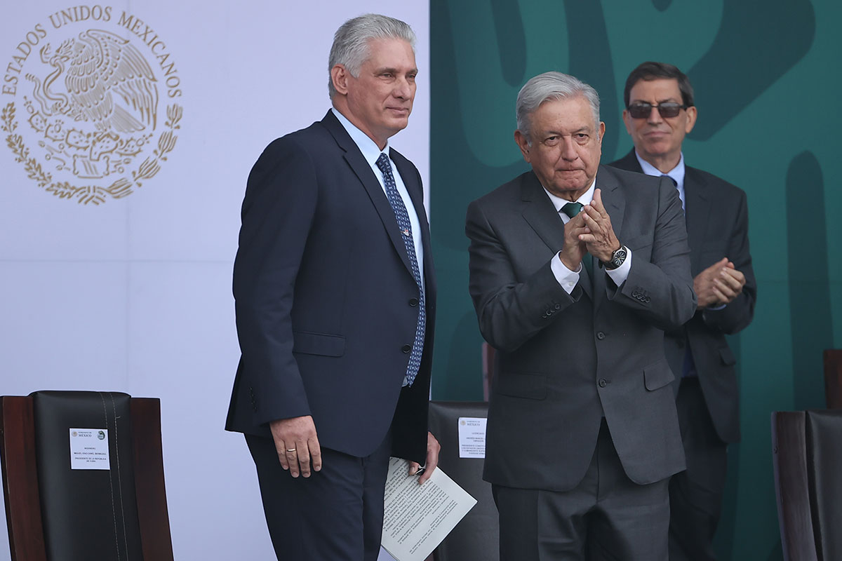 Miguel Díaz-Canel agradece apoyo de AMLO sobre bloqueo a Cuba.