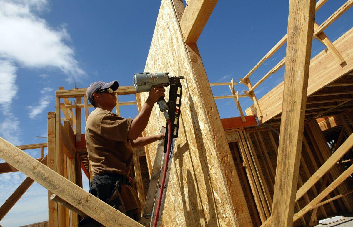La construcción de viviendas en Estados Unidos se está llevando a un ritmo más lento desde 1995.
