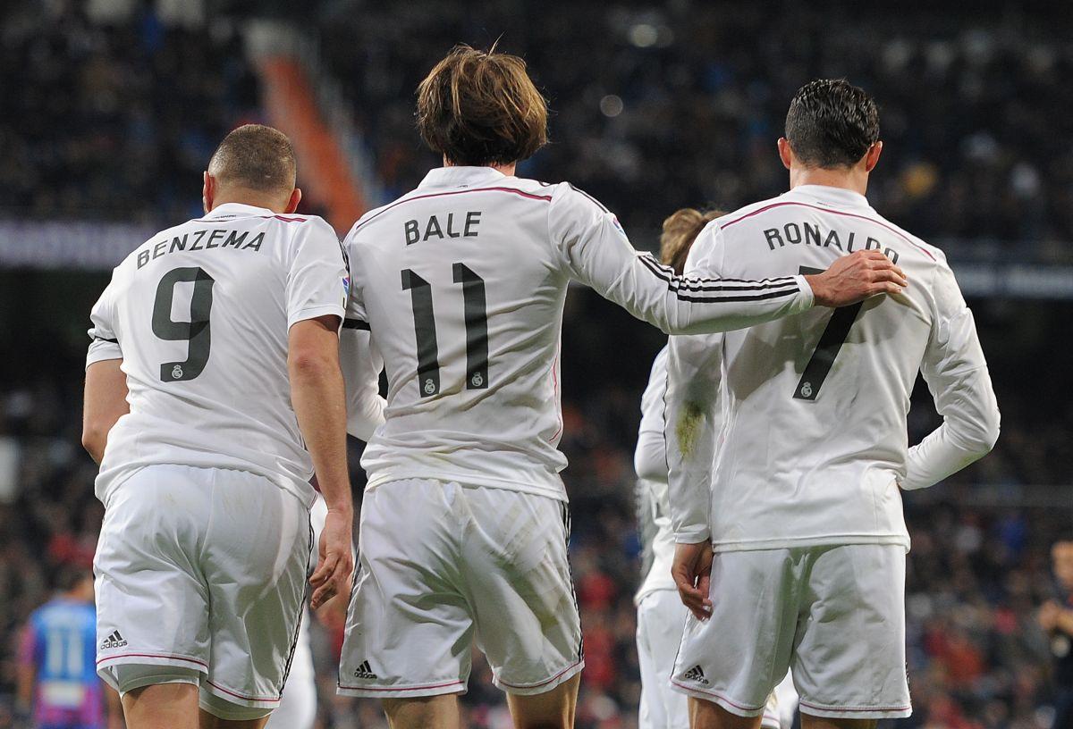 Este poderoso frente de ataque consiguió cuatro Liga de Campeones para el conjunto merengue.