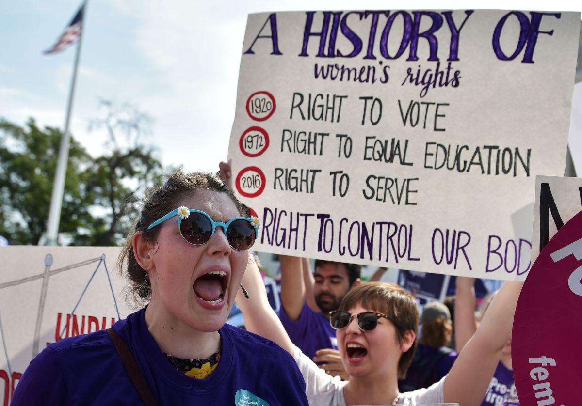 Biden lanzó una iniciativa para proteger los derechos de la mujer en Texas.