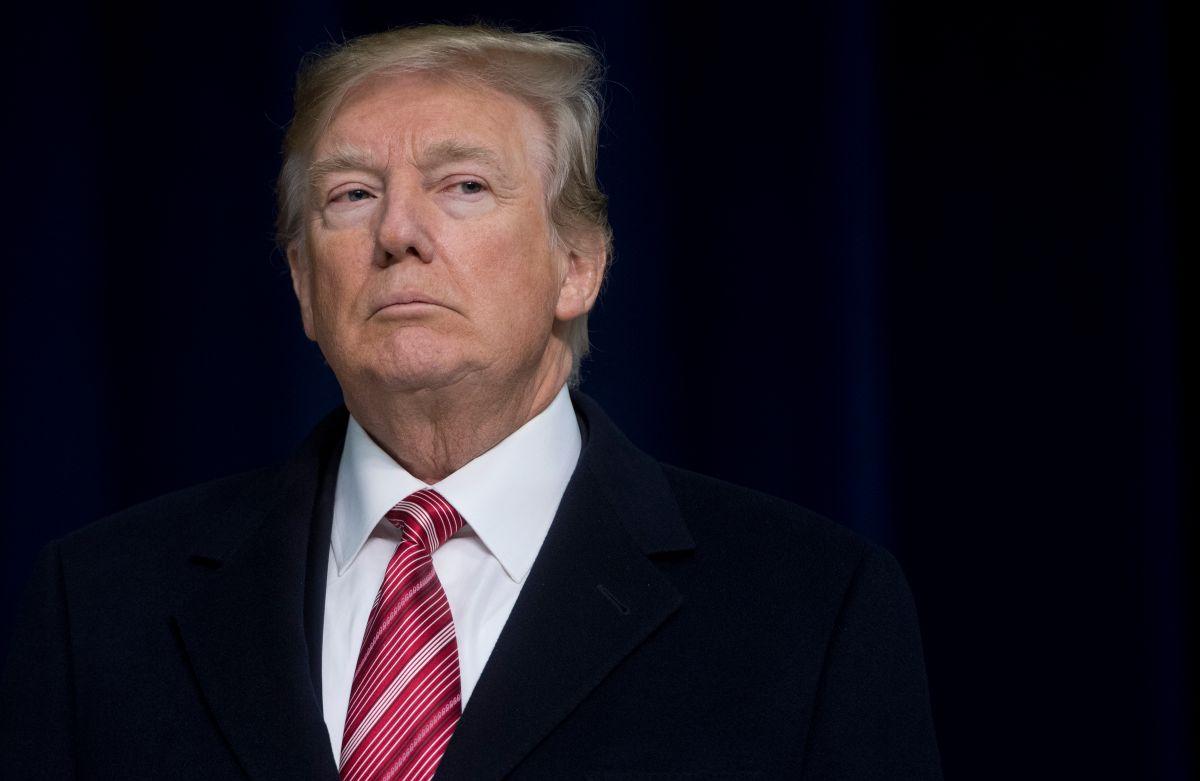 El expresidente Donald Trump.