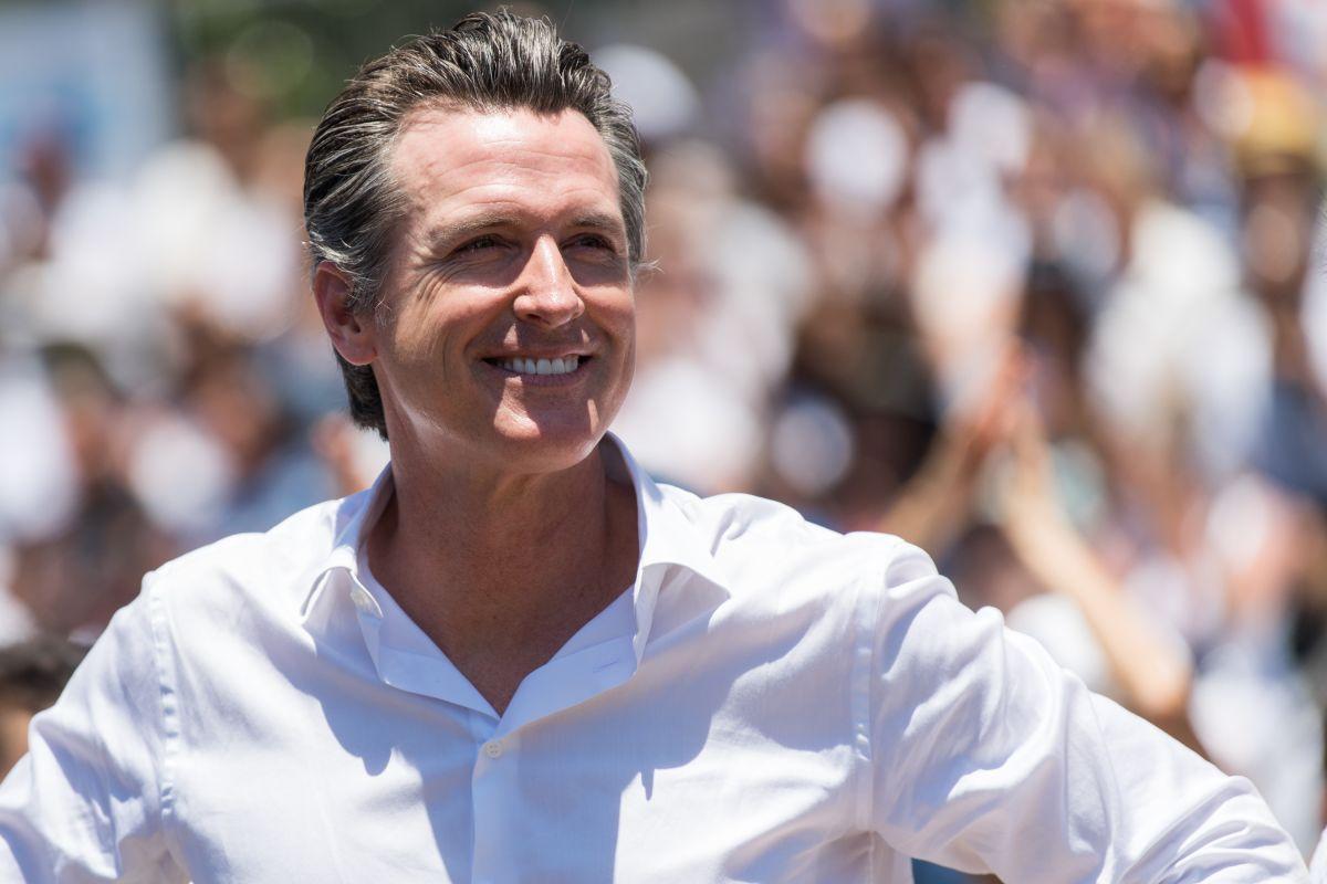 Gavin Newsom seguirá al frente de California. (Getty Images)