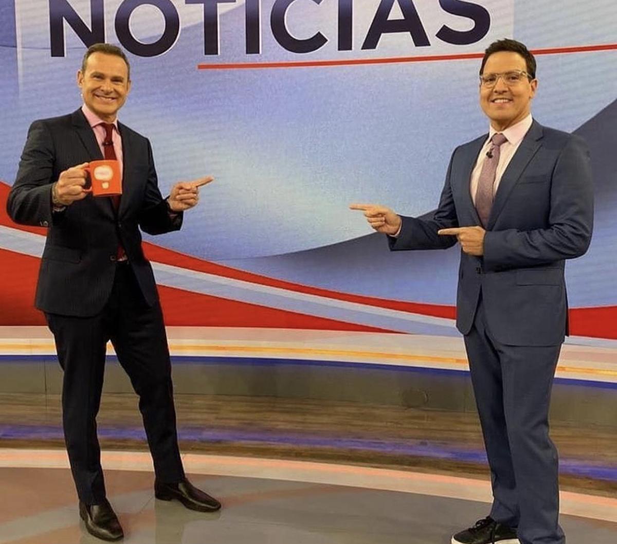 Alan Tacher y Raúl González.