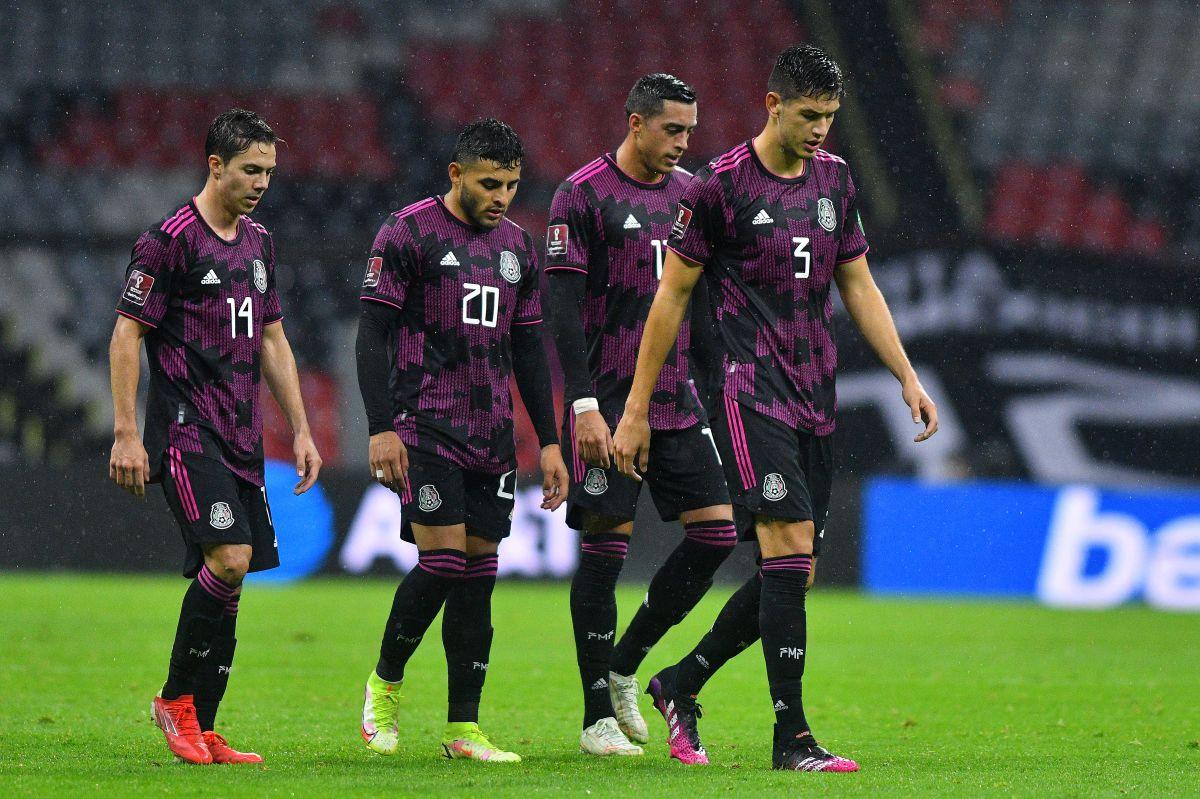 """México venció 2-1 a los """"Reggae Boys"""" en el Estadio Azteca."""