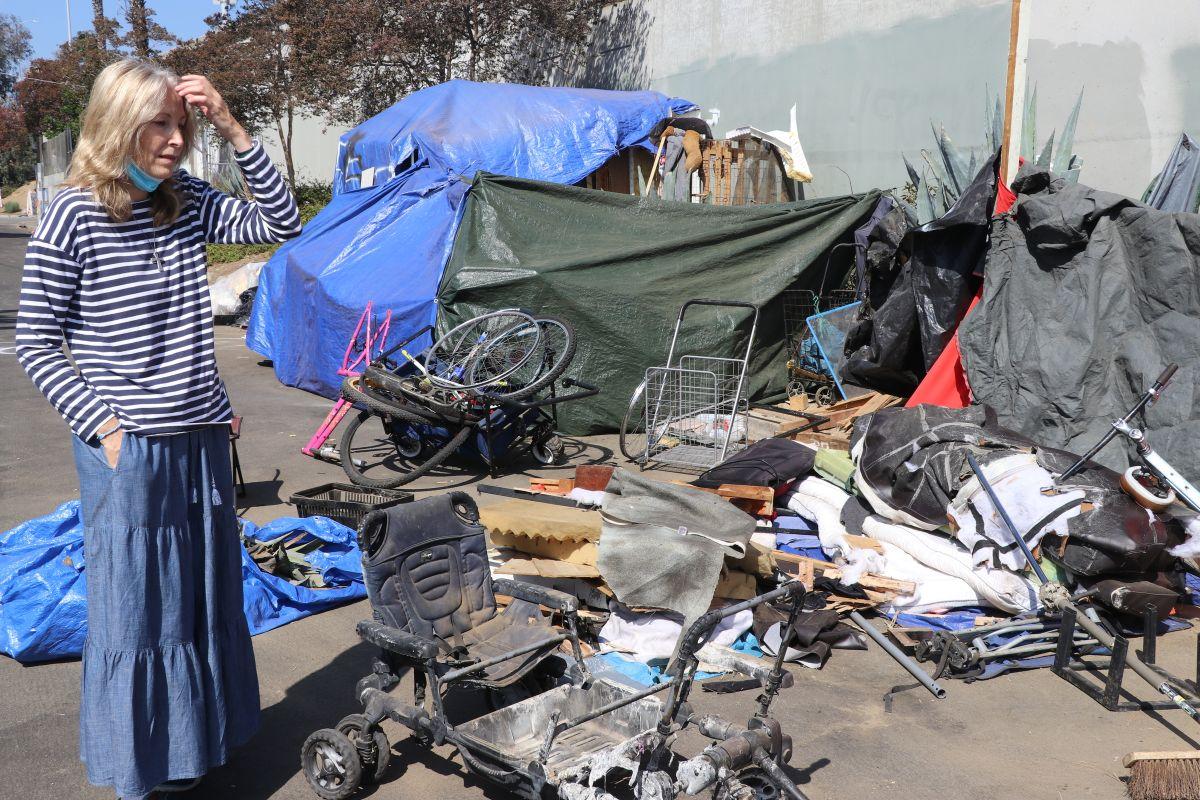 """""""Se necesita auténtica amistad con las personas sin hogar"""": Amie Quickley, (Jorge Macías)"""