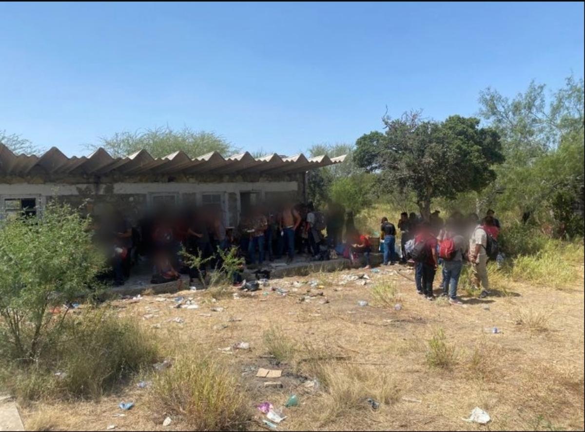El INM indicó que algunos de los 162 migrantes presentaron desnutrición y deshidratación.
