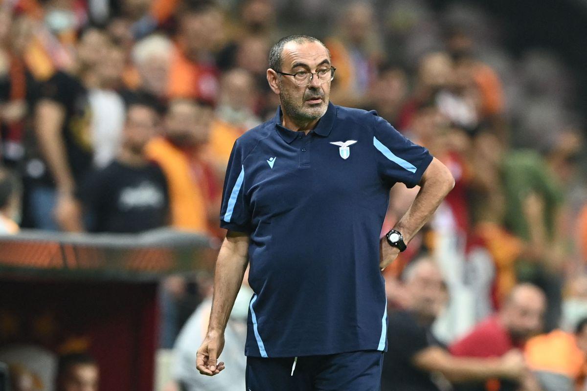 Maurizio Sarri, entrenador de la Lazio,
