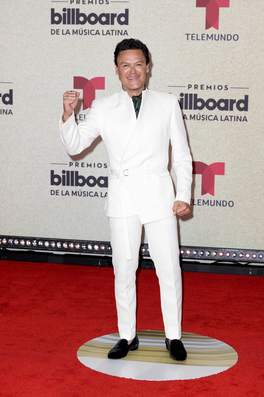 Pedro Fernández en Premios Billboard 2021.