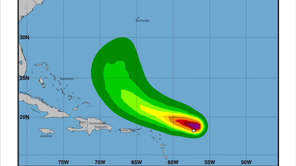 No se prevé que ninguna de las dos tormentas sean peligrosas para los Estados Unidos.
