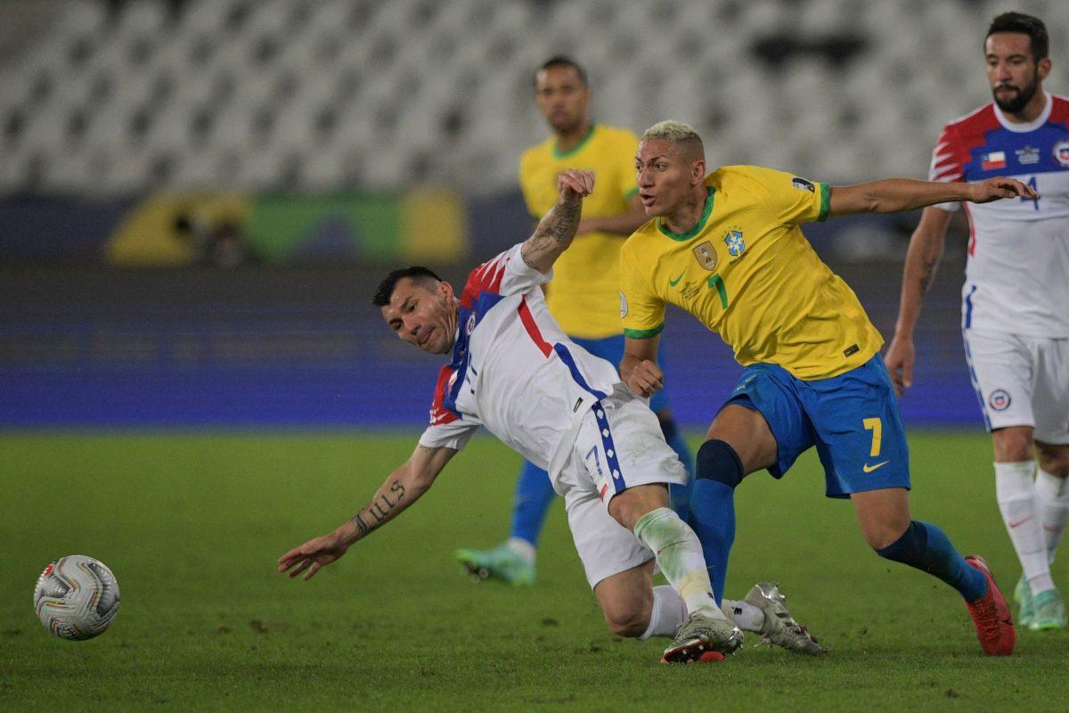 Brasil VS Chile.