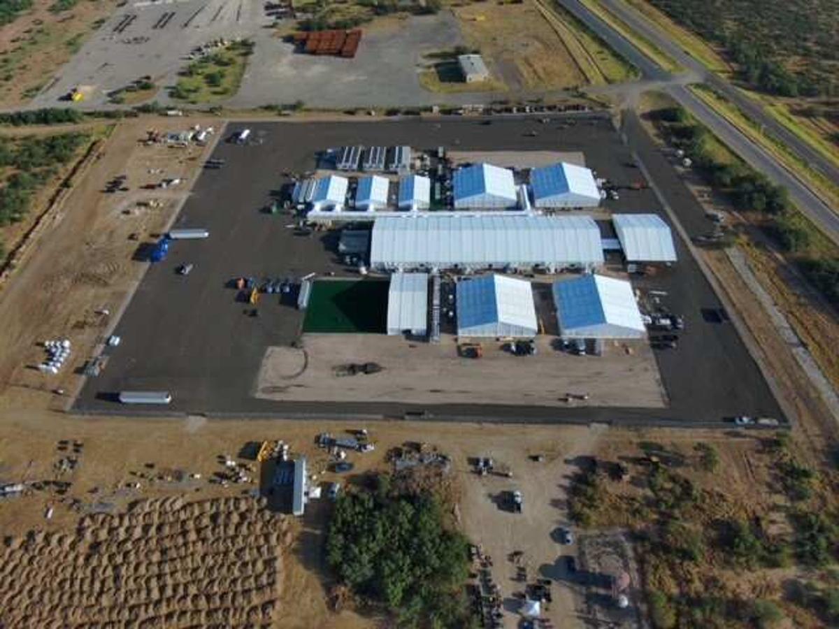 La CBP anunció este viernes la apertura de un nuevo centro para procesar migrantes en el sureste de Texas.