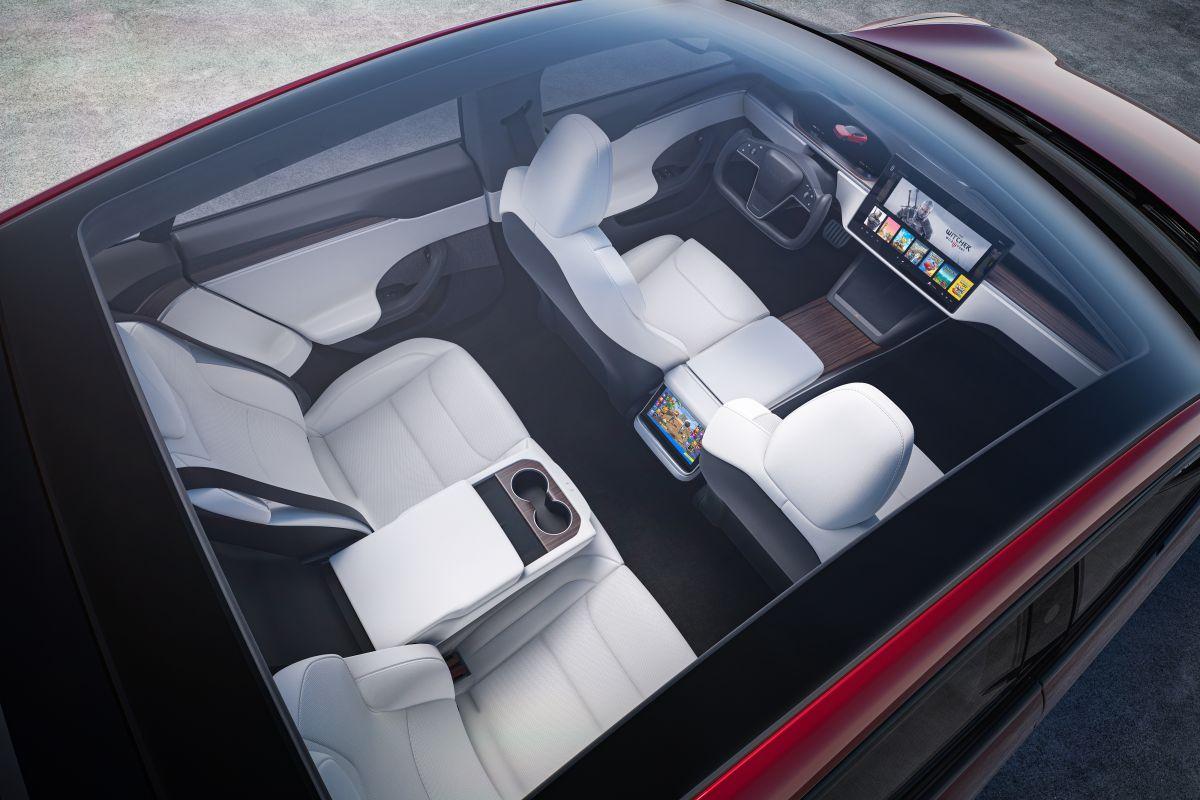 Foro del interior del Tesla Model S
