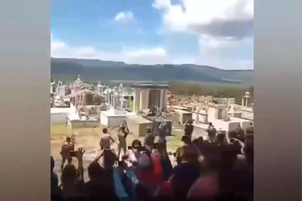 VIDEO: Sepultan al Chepe Sierra 2 del CJNG, narco que fue guardaespaldas del Mencho
