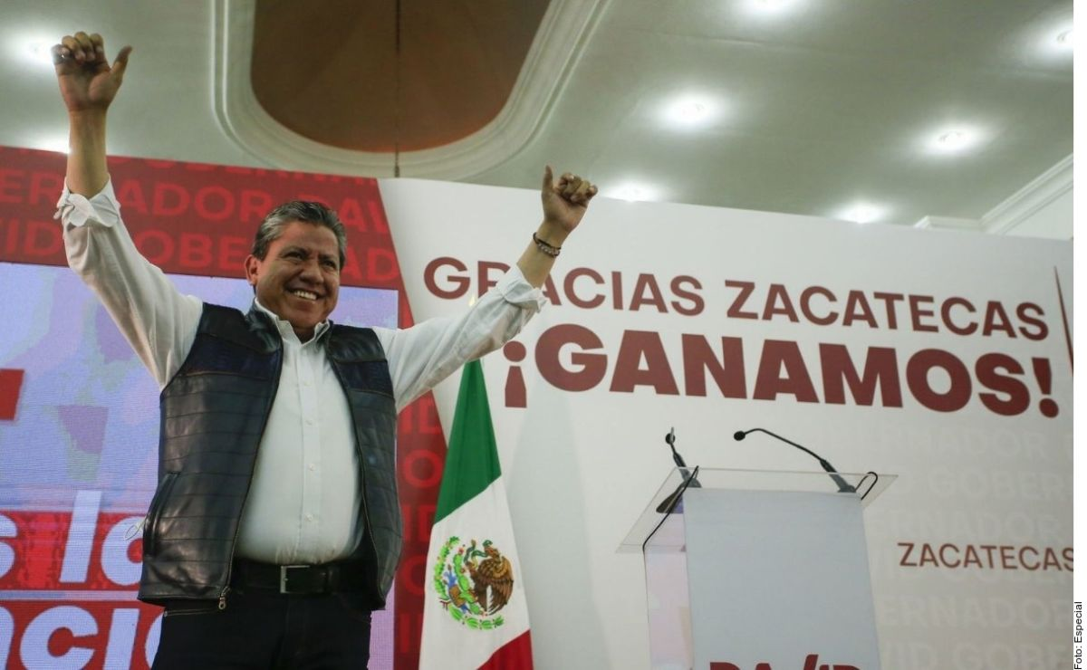 """El nuevo Gobernador de Zacatecas, David Monreal, señaló que el estado se encuentra """"agonizando"""" por la violencia."""