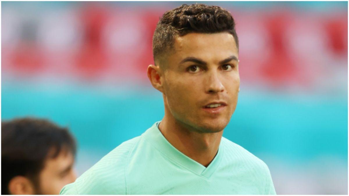 Cristiano Ronaldo ya disfruta de su nueva casa en Inglaterra.