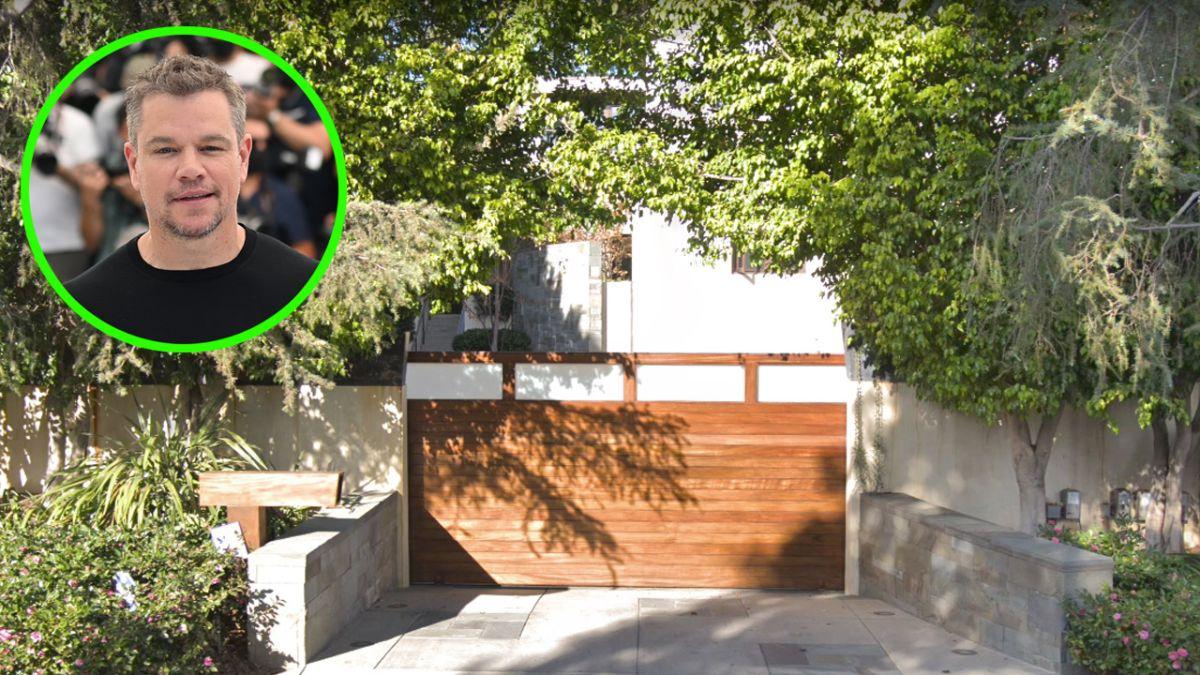 Matt Damon ya no es más el dueño de una de las casas más lindas de Pacific Palisades.