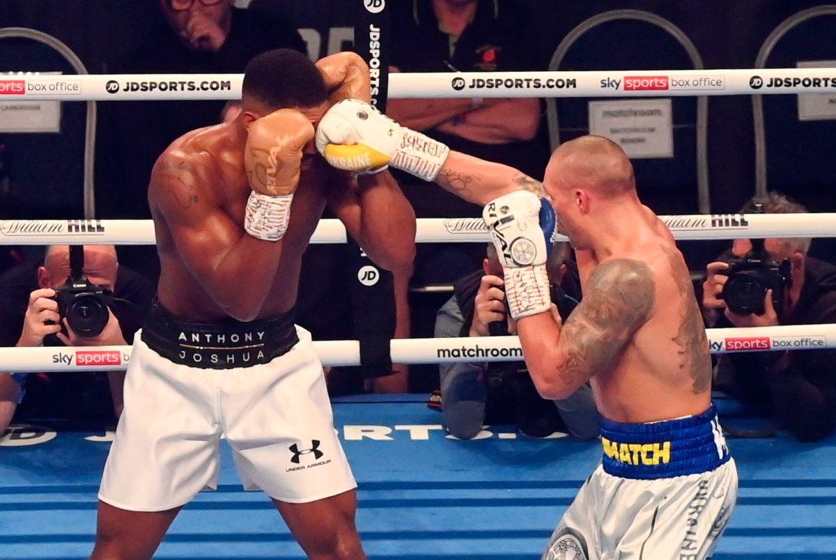 La pelea convocó a 70,000 aficionados al Tottenham Stadium, de la ciudad de Londres.