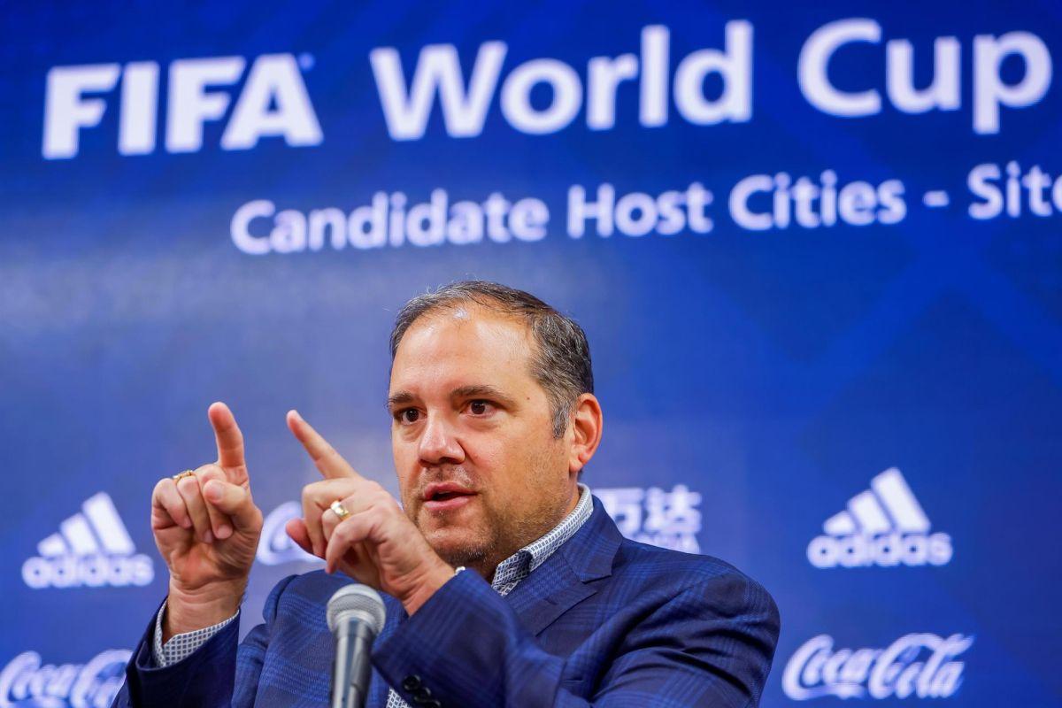 Víctor Montagliani, Presidente de Concacaf, se ha sentido satisfecho por los avances mostrados con las sedes para el Mundial 2026