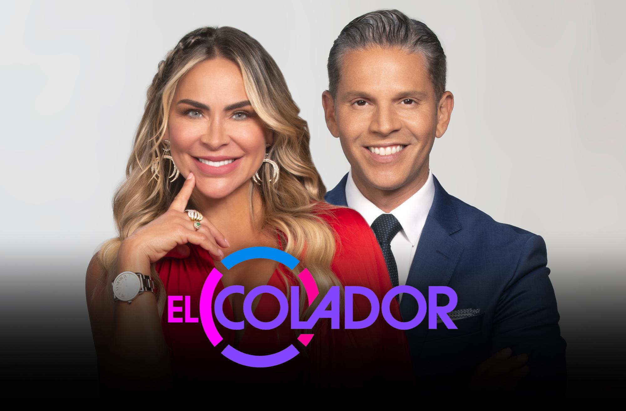 Aylin Mujica y Rodner Figueroa son los presentadores de 'El Colador'