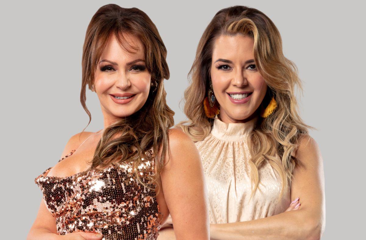 Gaby Spanic y Alicia Machado en 'La Casa de los Famosos'.