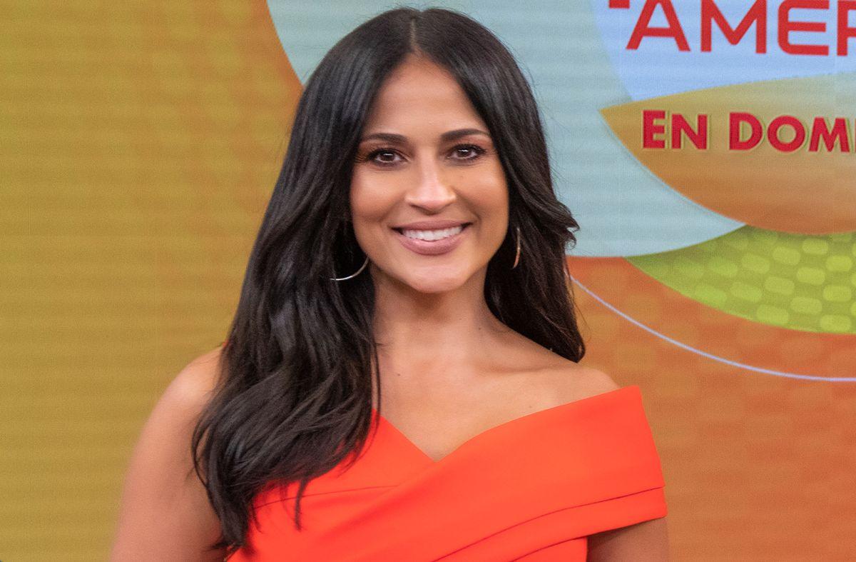 Jackie Guerrido es una de las presentadoras de 'Despierta América en Domingo'.