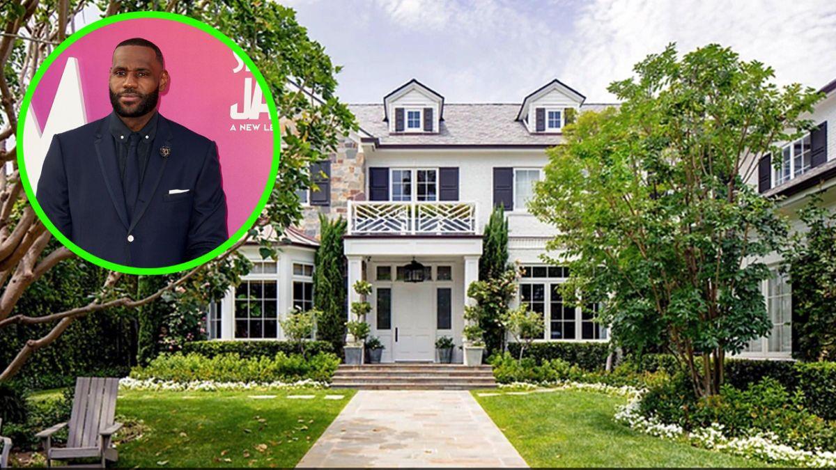 LeBron James ya no cuenta más con una de sus mansiones de Brentwood.