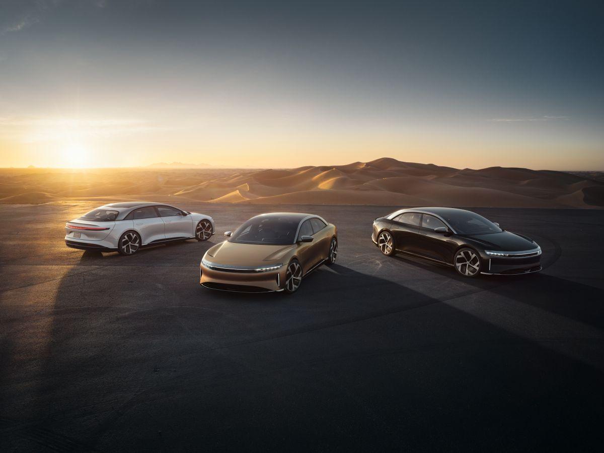 El Air EV es el sedán con el que Lucid Motors debuta en la industria automotriz.
