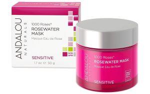 mascarilla de agua de rosas