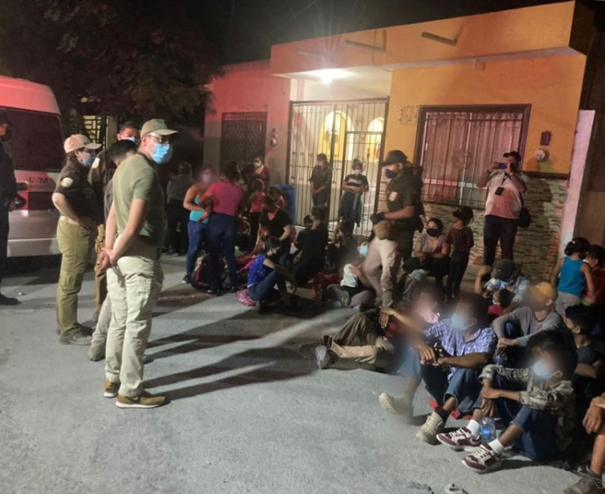Entre el 4 y el 7 de septiembre las autoridades mexicanas han rescatado a más de 600 migrantes indocumentados.