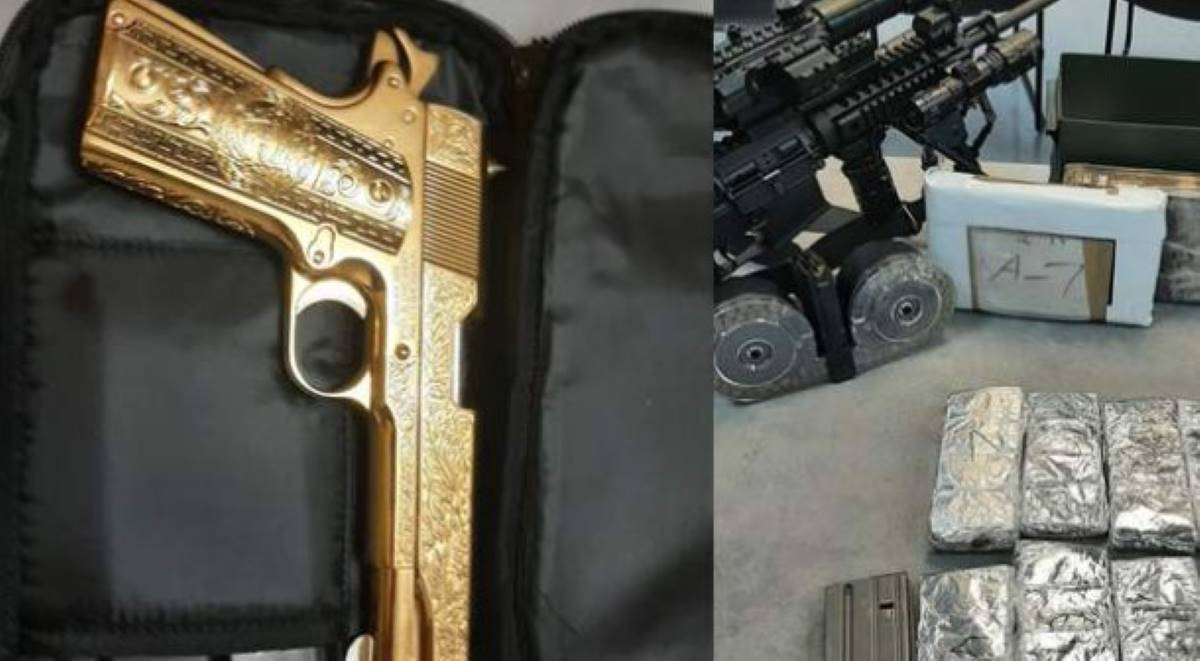 La pistola fue incautada por la Policía de Port Arthur.