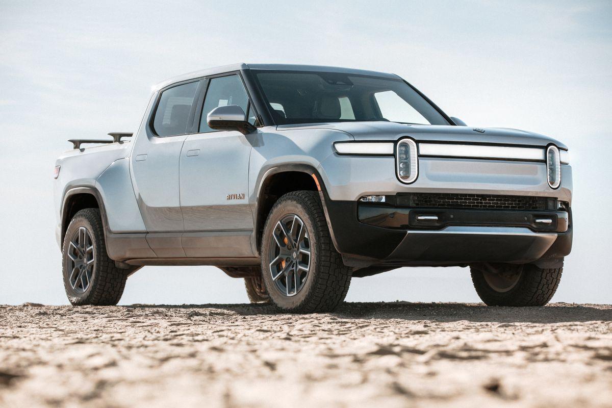 La R1T de Rivian es el primer vehículo de la marca y uno de los más esperados del año.