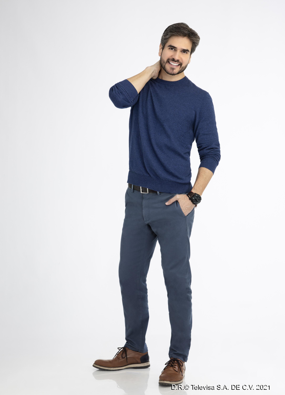 Daniel Arenas es Alberto Muñoz en en 'S.O.S. Me Estoy Enamorando'. | Foto: Televisa