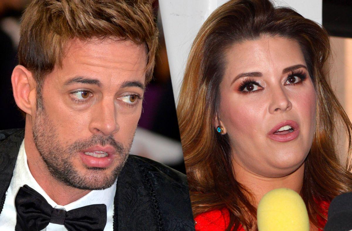 Al parecer . William Levy y Alicia Machado no tienen una buena relación.