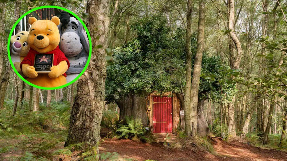 La casa de árbol de Winnie the Pooh estará disponible en Airbnb.