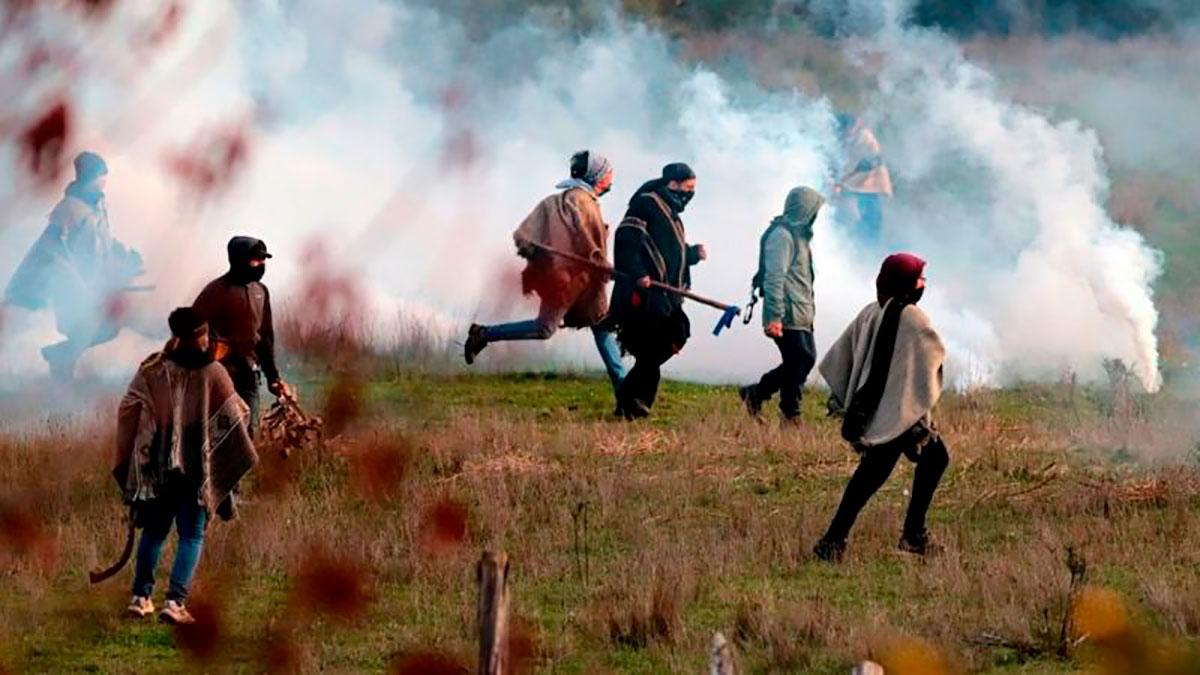 Los enfrentamientos entre los mapuches y la policía chilena han aumentado en los últimos años.