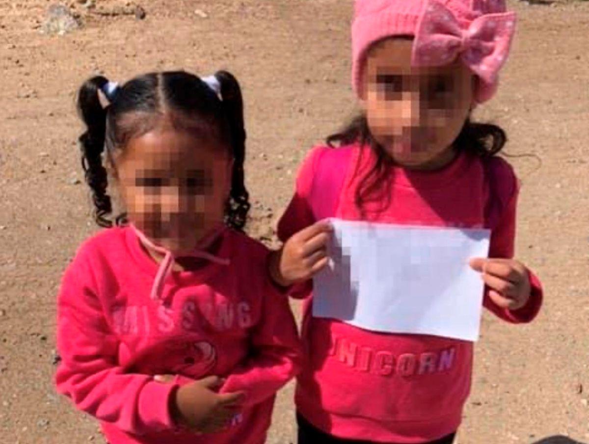 Las hermanas fueron encontradas por la Patrulla Fronteriza del Sector Yuma.