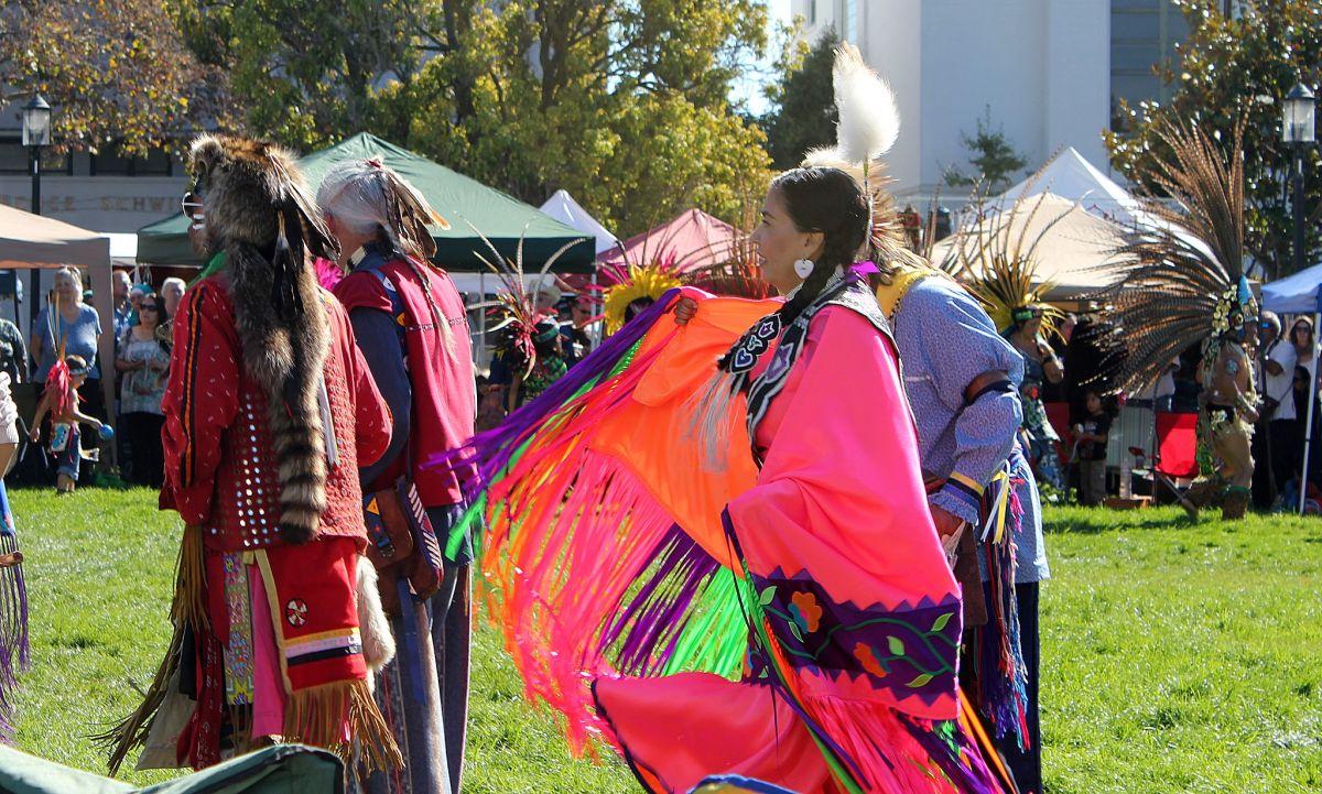 Celebración del Día de los Pueblos Indígenas.