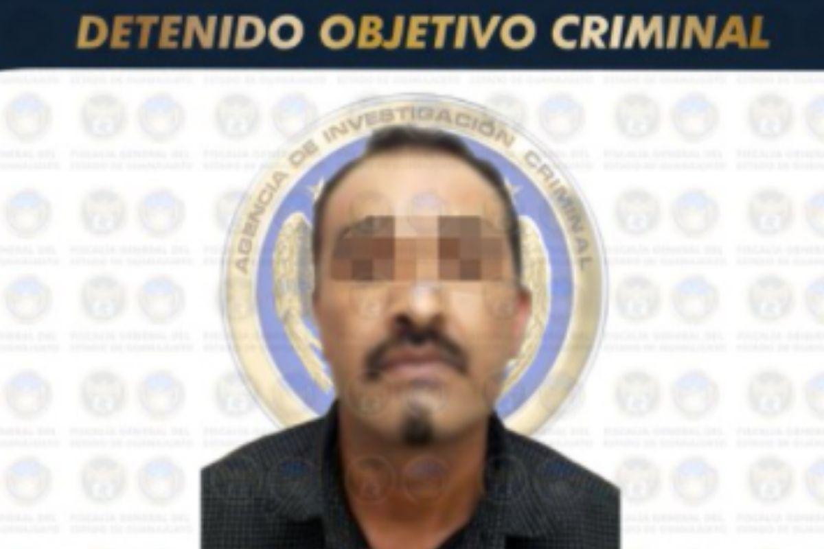 El sucesor del 'Marrano', 'El M1', líder del Cartel de Santa Rosa de Lima fue capturado en Celaya.