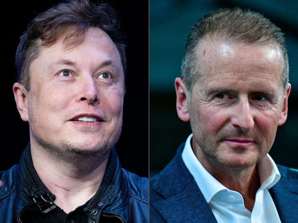 Elon Musk, CEO of Tesla, was invited to the Volkswagen executives conference and surprised everyone
