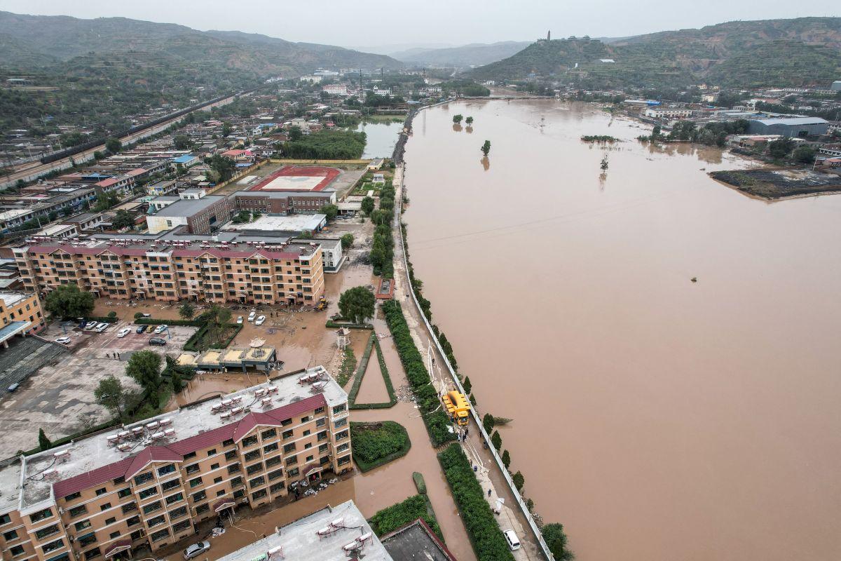 Las inundaciones en China han destruido más de 20,000 viviendas desde principios de octubre.