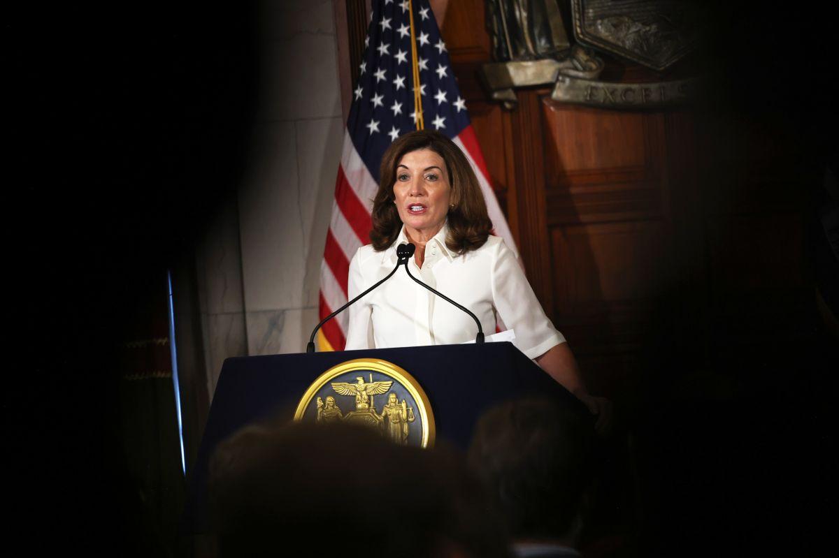 Kathy Hochul, gobernadora de Nueva York.