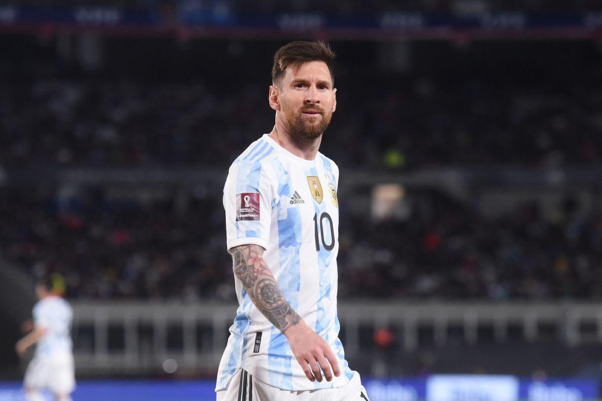 Messi se lució en su último encuentro ante la selección de Uruguay al marcar un gol al minuto 38.