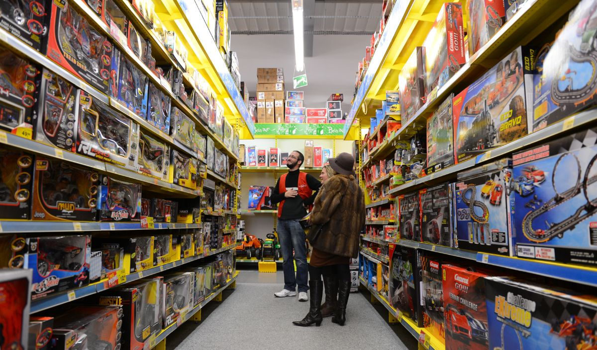 Las tiendas departamentales de California deberán cambiar la forma en que exhiben sus juguetes.